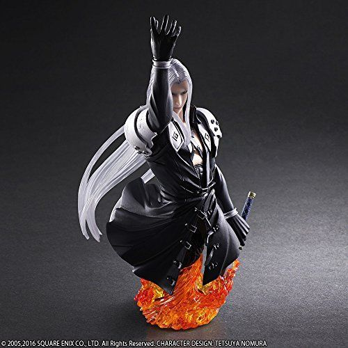 Square Enix Static Arts Bust Final Fantasy VII Sephiroth Figure from Japan_3
