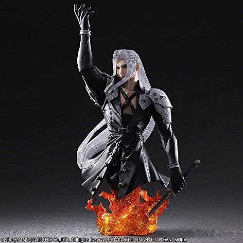 Square Enix Static Arts Bust Final Fantasy VII Sephiroth Figure from Japan_4