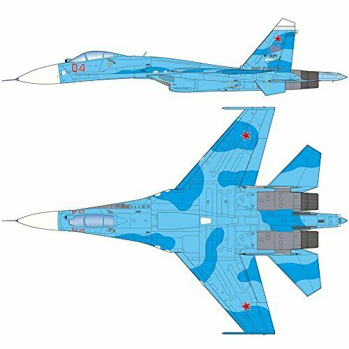Platz 1/72 Su-27SM2/3 Flanker B 'Update' Plastic Model Kit NEW from Japan_2