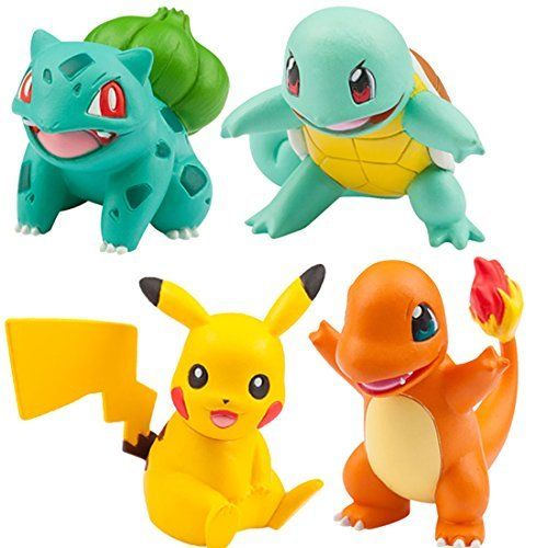 Monster Collection EX Three Pokemon of Departure+Pikachu Vol.1 Kanto TAKARA TOMY_1
