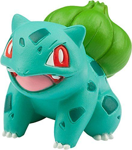 Monster Collection EX Three Pokemon of Departure+Pikachu Vol.1 Kanto TAKARA TOMY_2