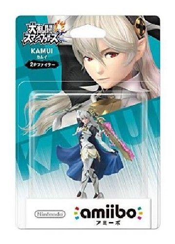 Nintendo amiibo CORRIN (KAMUI) 2P Fighter Super Smash Bros. 3DS Wii U NEW_2