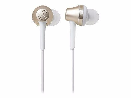 audio technica ATH-CKR75BT Bluetooth In-Ear Headphones w/Mic Champagne Gold NEW_2