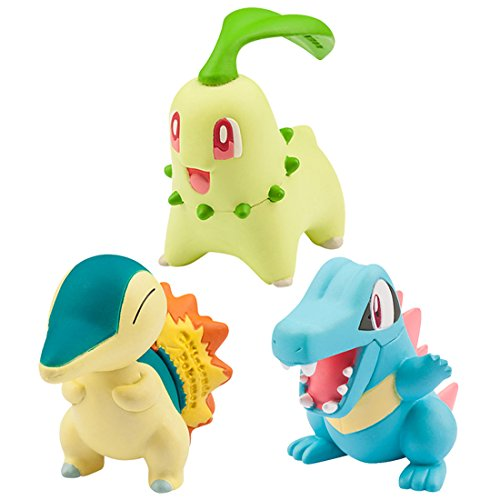 Monster Collection Moncolle-EX Three Pokemon of Departure Vol.2 Johto TOMY NEW_1