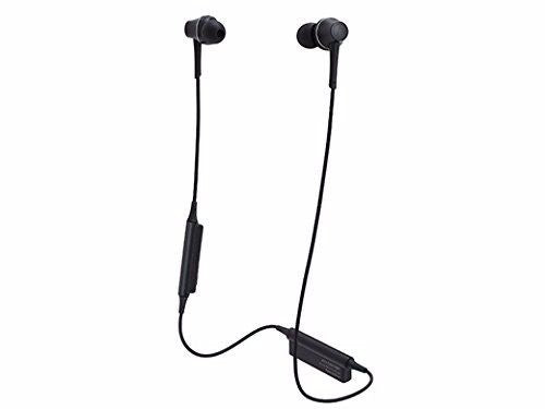 audio technica ATH-CKR75BT Bluetooth In-Ear Headphones w/Mic Graphite Black NEW_1