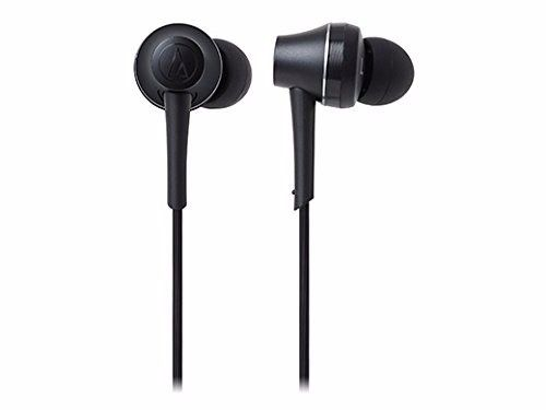 audio technica ATH-CKR75BT Bluetooth In-Ear Headphones w/Mic Graphite Black NEW_2
