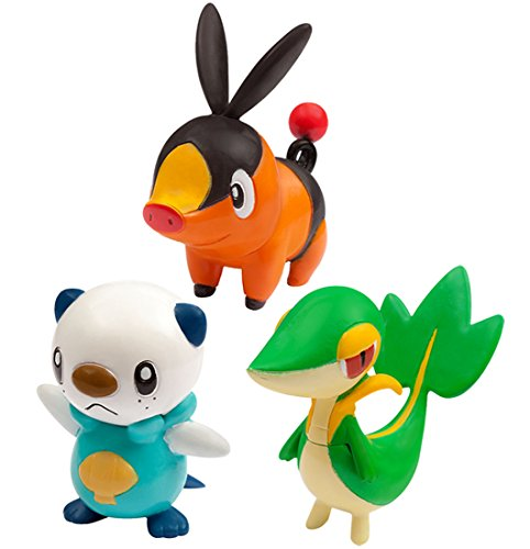 Monster Collection Moncolle-EX Three Pokemon of Departure Vol.5 Isshu TOMY NEW_1