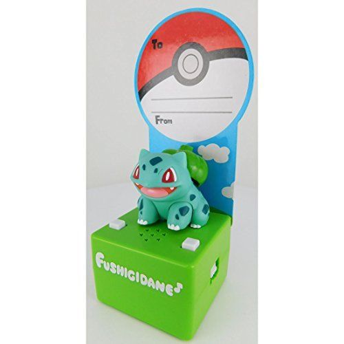 Pokemon Pop'n Step Pokemon Bulbasaur (Fushigidane) TAKARA TOMY NEW from Japan_2