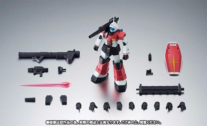 ROBOT SPIRITS SIDE MS RGC-80 GM CANNON Ver A.N.I.M.E. Figure Gundam BANDAI NEW_10