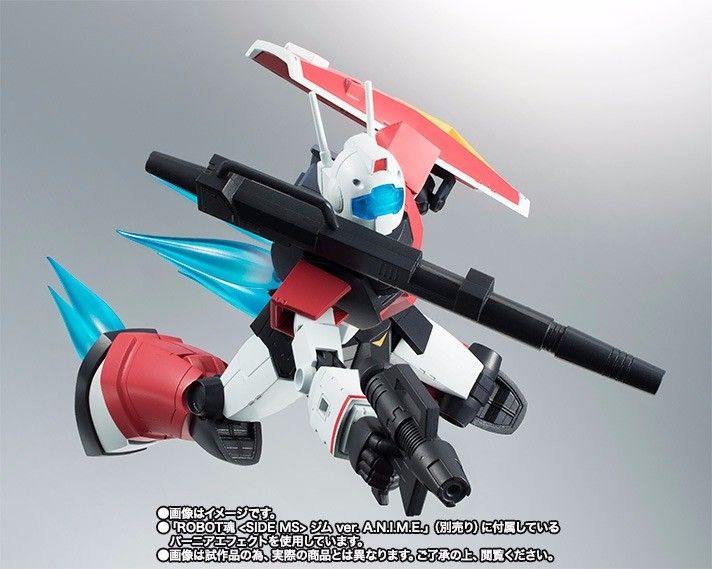 ROBOT SPIRITS SIDE MS RGC-80 GM CANNON Ver A.N.I.M.E. Figure Gundam BANDAI NEW_7