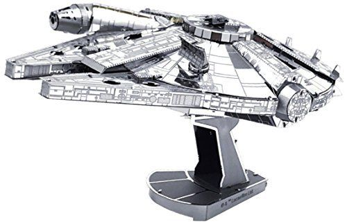 Tenyo Metallic Nano Puzzle Premium Series Star Wars MILLENNIUM FALCON Model Kit_1