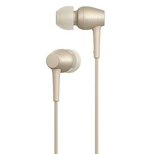 SONY IER-H500A h.ear in 2 Hi-Res Audio In-Ear Headphones Pale Gold NEW_1