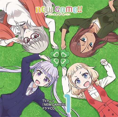 [CD] TV Anime NEW GAME!! Drama CD Vol.1 NEW from Japan_1
