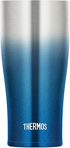 THERMOS vacuum insulation tumbler 420 ml Sparkling blue JDE-420C SP-BL NEW_2