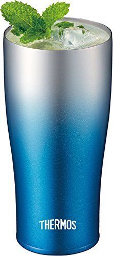 THERMOS vacuum insulation tumbler 420 ml Sparkling blue JDE-420C SP-BL NEW_3