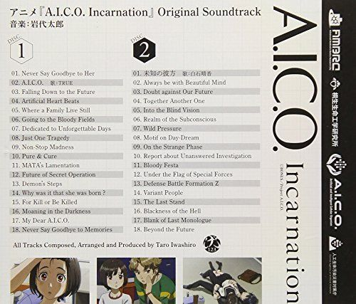 [CD] A.I.C.O. Incarnation Original Soundtrack NEW from Japan_2