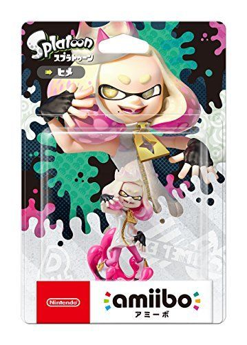 Nintendo amiibo Splatoon PEARL (HIME) 3DS Switch Accessories NEW from Japan_1
