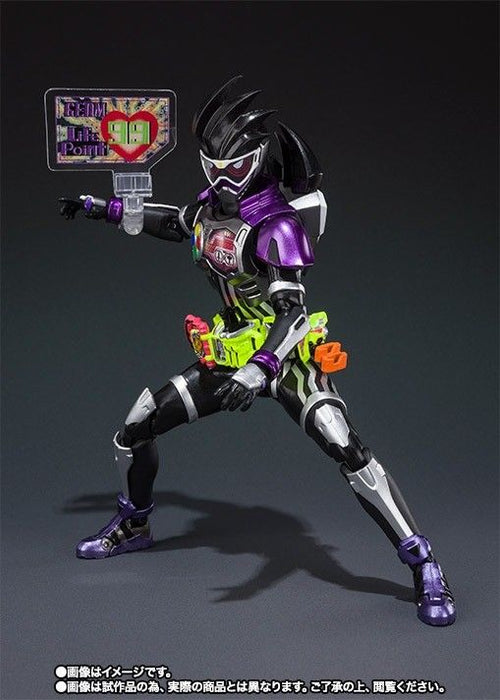 S.H.Figuarts Masked Kamen Rider EX-AID GENM ACTION GAMER LEVEL 0 Figure BANDAI_5