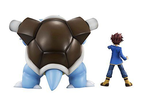 MegaHouse G.E.M. Series Pokemon Shigeru & Blastoise Figure NEW from Japan_3