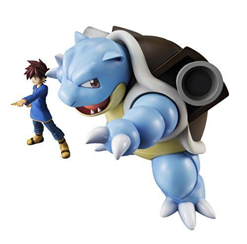 MegaHouse G.E.M. Series Pokemon Shigeru & Blastoise Figure NEW from Japan_5