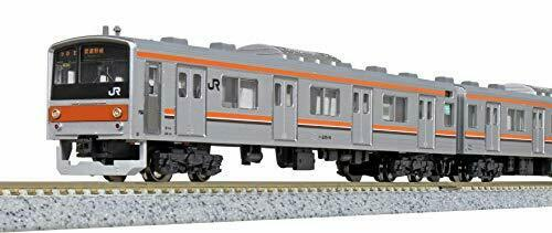 Kato N Scale Series 205-5000 Musashino Line SAHA205 Door Big Window 8-Car Set_1
