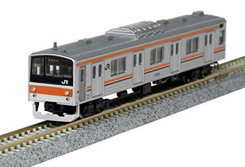 Kato N Scale Series 205-5000 Musashino Line SAHA205 Door Big Window 8-Car Set_2