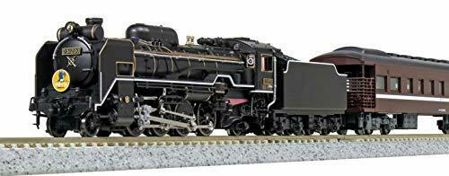 Kato N Scale [Limited Edition] D51 200 + Series 35 SL [Yamaguchi] 6 Car Set NEW_1