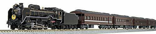 Kato N Scale [Limited Edition] D51 200 + Series 35 SL [Yamaguchi] 6 Car Set NEW_2
