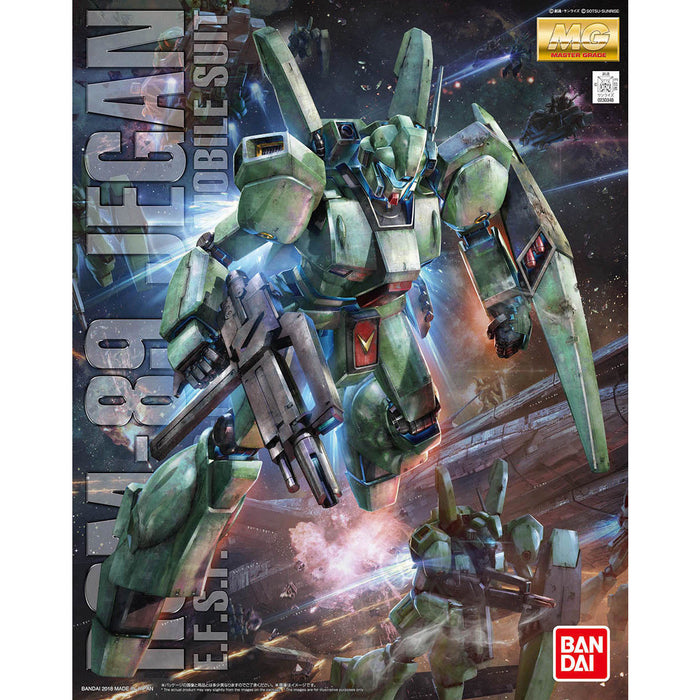 BANDAI MG 1/100 RGM-89 JEGAN Plastic Model Kit Gundam CCA NEW from Japan_1