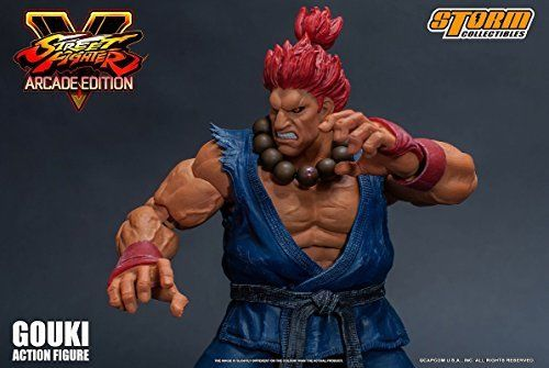 Street Fighter V Action Figure Akuma Gouki Nostalgic Costume Ver. Figure_10