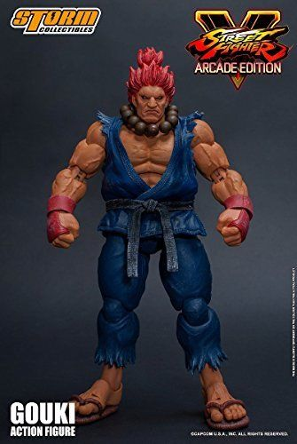Street Fighter V Action Figure Akuma Gouki Nostalgic Costume Ver. Figure_2
