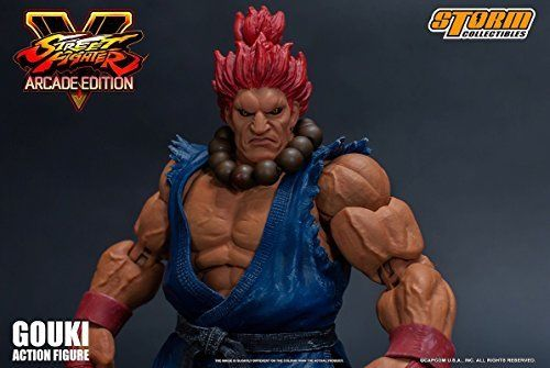 Street Fighter V Action Figure Akuma Gouki Nostalgic Costume Ver. Figure_3