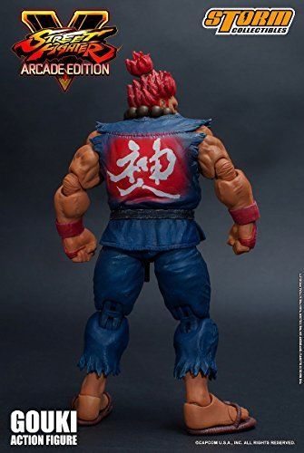 Street Fighter V Action Figure Akuma Gouki Nostalgic Costume Ver. Figure_4