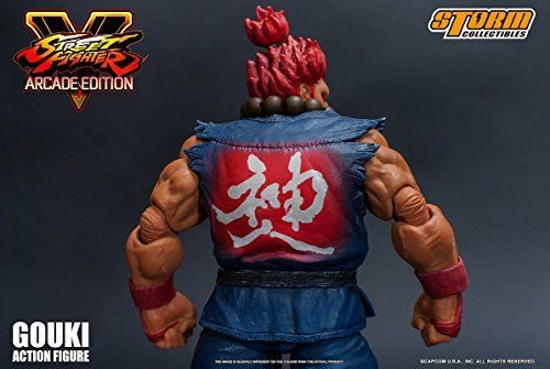 Street Fighter V Action Figure Akuma Gouki Nostalgic Costume Ver. Figure_5