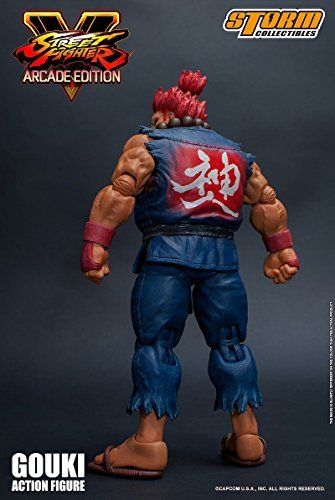 Street Fighter V Action Figure Akuma Gouki Nostalgic Costume Ver. Figure_6