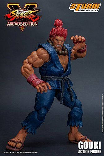Street Fighter V Action Figure Akuma Gouki Nostalgic Costume Ver. Figure_8