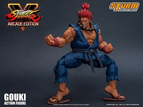 Street Fighter V Action Figure Akuma Gouki Nostalgic Costume Ver. Figure_9