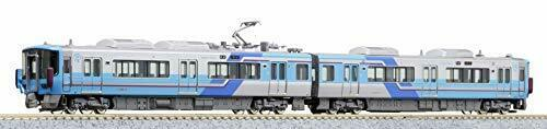 Kato N Scale IR Ishikawa Railway Series 521 (Old Purple) (2-Car Set) NEW_1
