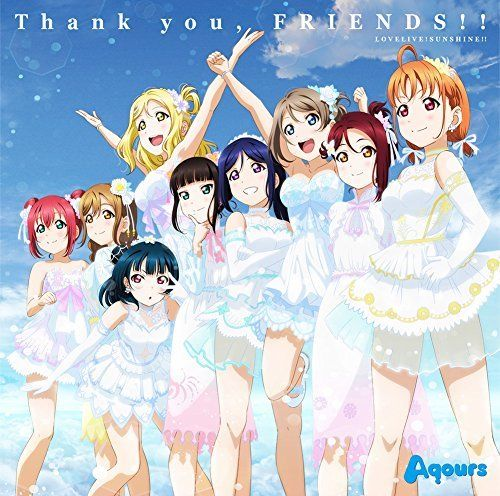 [CD] Love Live Sunshine Aqours Theme Song Thank you, FRIENDS NEW from Japan_1