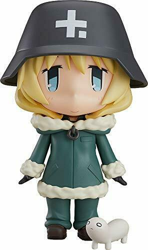 Fine Clover Nendoroid 1073 Girls' Last Tour Yuri Figure NEW from Japan_1