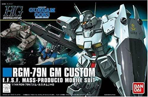 Bandai RGM-79N GM Custom HGUC 1/144 Gunpla Model Kit NEW from Japan_3