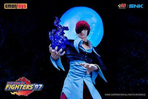 Emontoys The King of Fighters '97 Iori Yagami 1/8 Scale Figure NEW from Japan_9