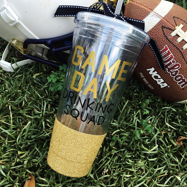 GAME DAY Drinking Squad - Tumbler