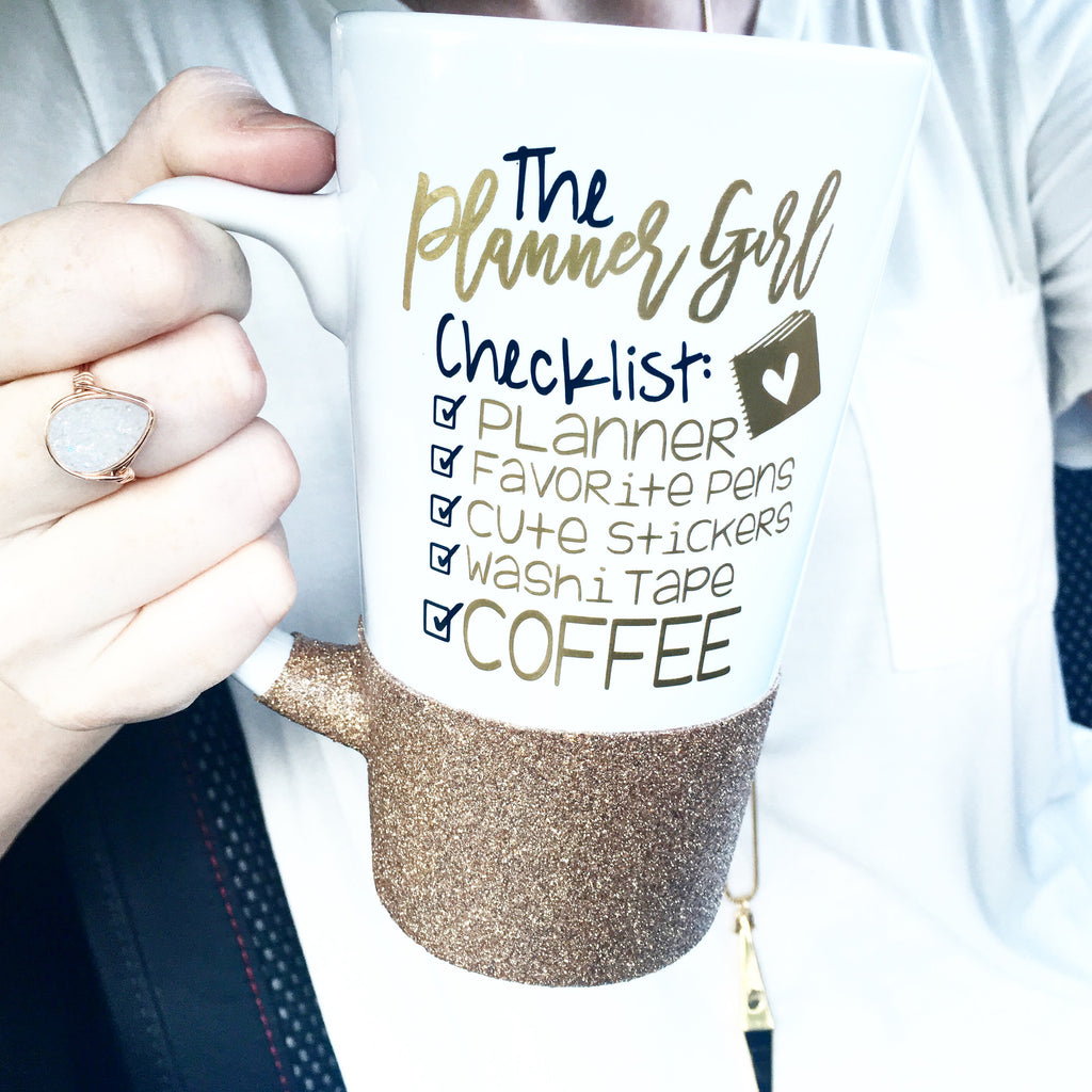 The Planner Girl Checklist - Coffee Mug