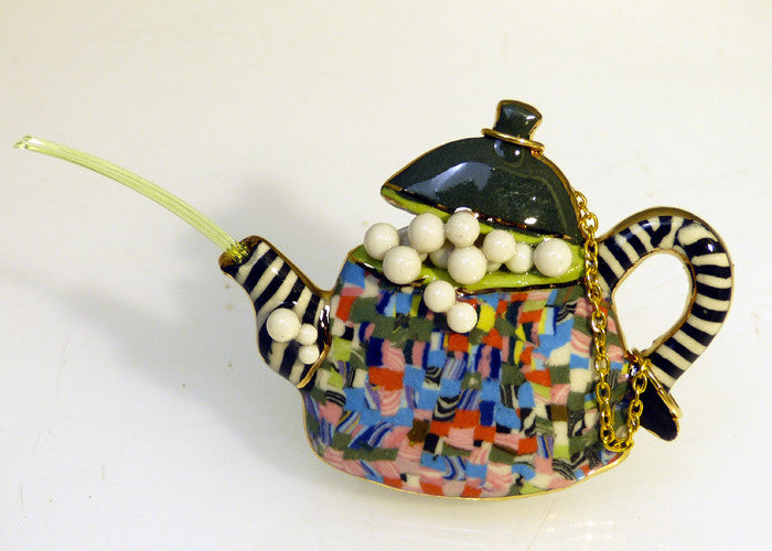 Tea Pot with bubbles V711