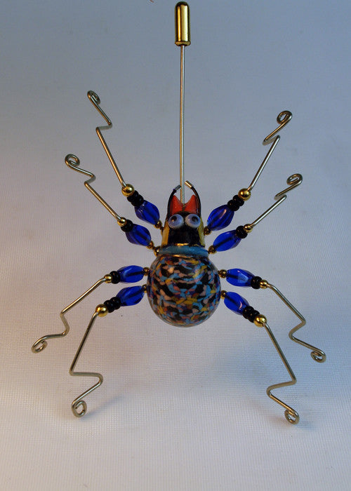 Small Spider Pin