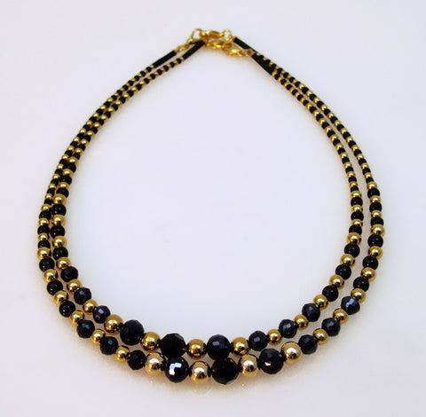 Black and Gold Chain