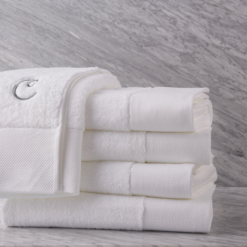 Calla Logo Signature 1000 Gram Oversize Egyptian Cotton Bath Towel