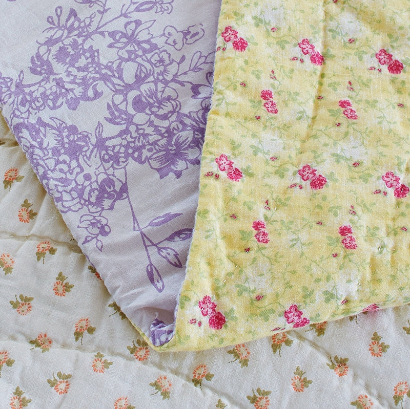 Fairview Patchwork Handmade Pure Cotton Quilt - Calla Angel  - 10