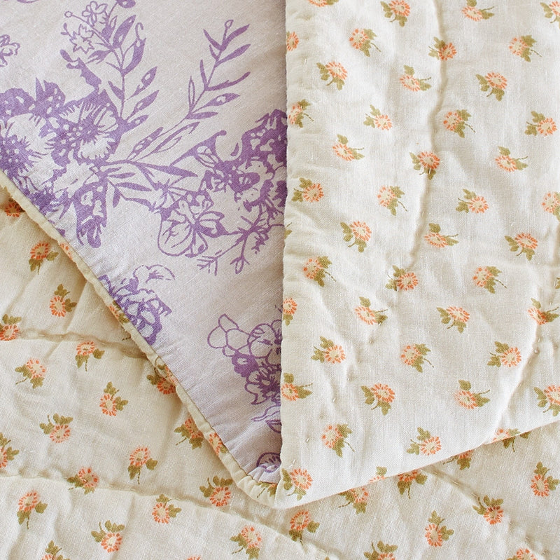 Fairview Patchwork Handmade Pure Cotton Quilt - Calla Angel  - 11